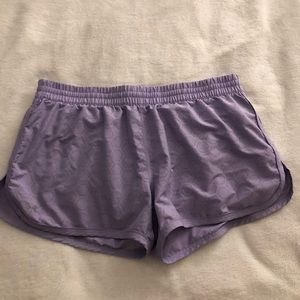Under Amour running semi-fitted shorts